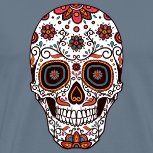 Sugar Skull - Day of the Dead #7 T-Shirts - Men's Premium T-Shirt