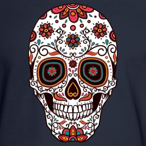 Sugar Skull - Day of the Dead #7 Long Sleeve Shirts - Men's Long Sleeve T-Shirt