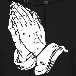 Automatic Praying Hands - Men's Hoodie
