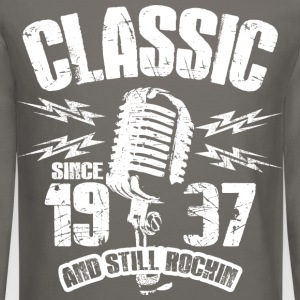 Classic Since 1937 Long Sleeve Shirts - Crewneck Sweatshirt