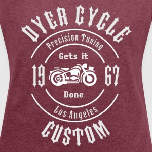 Dyer Cycle Precision Tuning - Women´s Roll Cuff T-Shirt