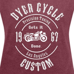 Dyer Cycle Precision Tuning - Women´s Rolled Sleeve Boxy T-Shirt