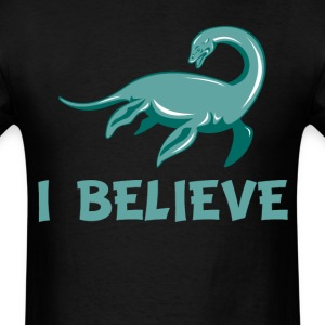 I Believe Nessie Loch Ness Monster - Men's T-Shirt