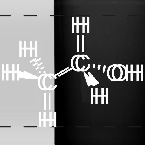 Ethanol (Alcohol seen drunk) Molecule