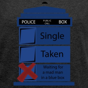 Doctor who tee shirt| relationship status - Women's Roll Cuff T-Shirt