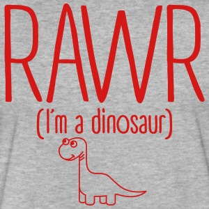 Rawr I'm a Dinosaur T-Shirts - Fitted Cotton/Poly T-Shirt by Next Level
