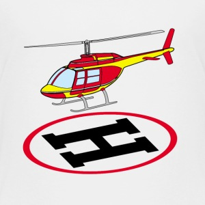 Landing helicopter Baby & Toddler Shirts - Toddler Premium T-Shirt