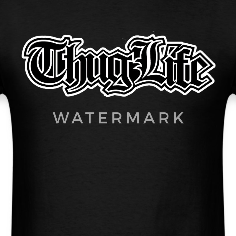Thug Life - Men's T-Shirt