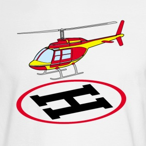 Landing helicopter Long Sleeve Shirts - Men's Long Sleeve T-Shirt