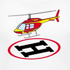 Landing helicopter T-Shirts - Women's Maternity T-Shirt