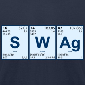 Scientific Swag - Men's T-Shirt by American Apparel