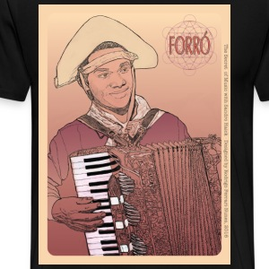 Forró Card Design T-Shirts - Men's Premium T-Shirt