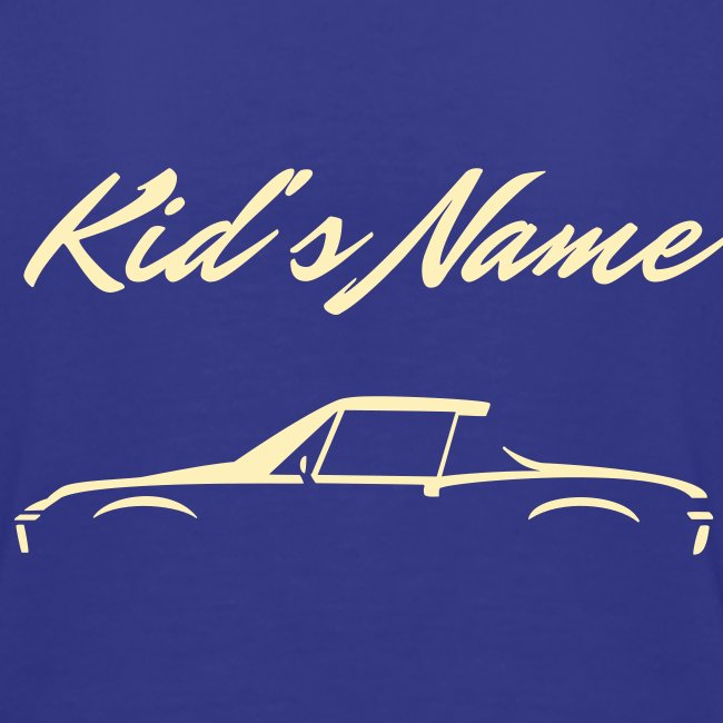 Kid's Name on the back