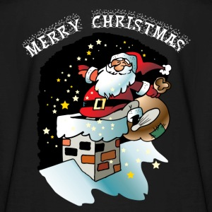 MERRY CHRISTMAS-SANTA CLAUS Kids' Shirts - Kids' Long Sleeve T-Shirt