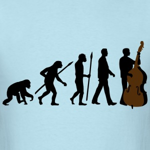 evolution_double_bass_11_2016_2c03 T-Shirts - Men's T-Shirt