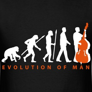 evolution_double_bass_11_2016_2c02 T-Shirts - Men's T-Shirt