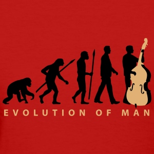 evolution_double_bass_11_2016_2c02 T-Shirts - Women's T-Shirt
