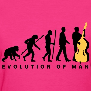 evolution_double_bass_11_2016_2c01 T-Shirts - Women's T-Shirt