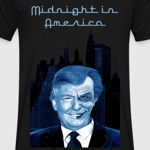 Midnight in america - Men's V-Neck T-Shirt by Canvas