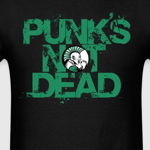 Punks Mot Dead.  - Men's T-Shirt