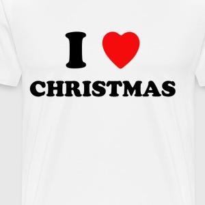 I Love Christmas - Men's Premium T-Shirt