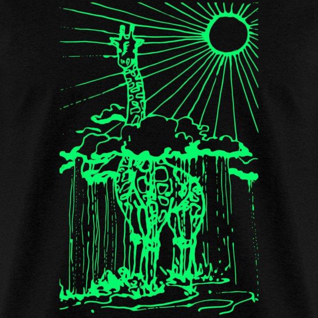 Sunshine day giraffe