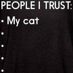 People I trust. My Cat Tanks - Women's Flowy Tank Top by Bella