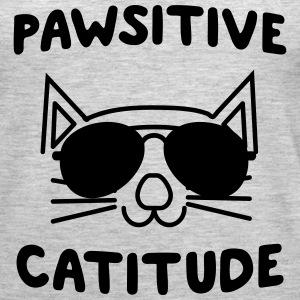 Pawsitive Catitude Tanks - Women's Premium Tank Top
