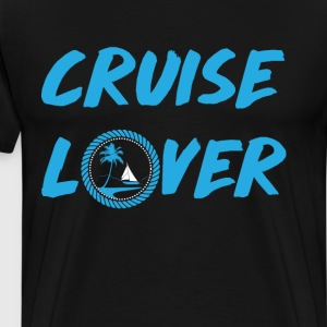Cruise Lover Boating Summer Relaxing Beach T-Shirt T-Shirts - Men's Premium T-Shirt