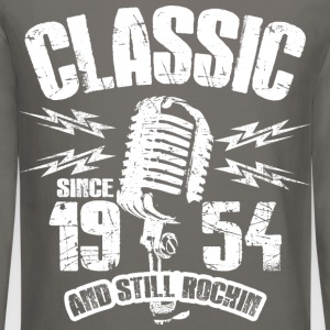 Classic Since 1954 Long Sleeve Shirts - Crewneck Sweatshirt