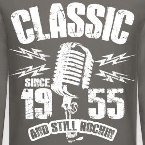 Classic Since 1955 Long Sleeve Shirts - Crewneck Sweatshirt