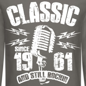 Classic Since 1961 Long Sleeve Shirts - Crewneck Sweatshirt