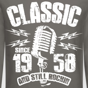 Classic Since 1958 Long Sleeve Shirts - Crewneck Sweatshirt