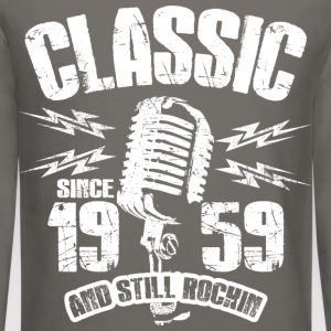 Classic Since 1959 Long Sleeve Shirts - Crewneck Sweatshirt