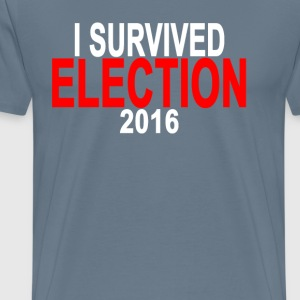 i_survived_election_2016_ - Men's Premium T-Shirt