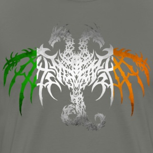 IRELAND FLAG DRAGON 2 T-Shirts - Men's Premium T-Shirt