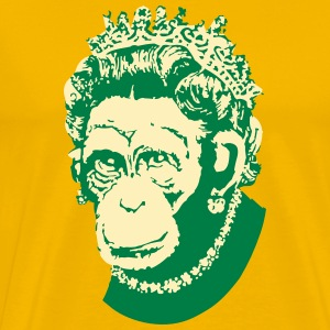 Monkey Queen - Men's Premium T-Shirt