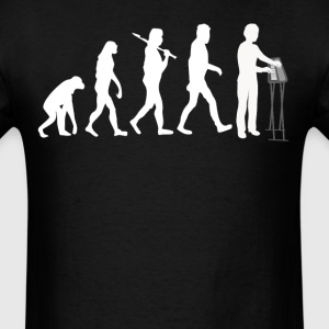 Keyboard Player Evolution Funny Music - Men's T-Shirt