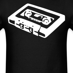 Vintage Cassette Tape Cool Music - Men's T-Shirt