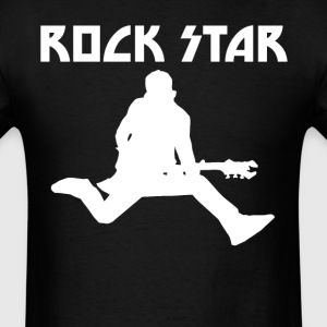 Rock Star Guitarist Cool Music - Men's T-Shirt