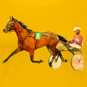 harness racing T-Shirts - Women's Premium T-Shirt