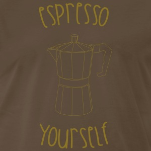 Espresso Yourself T-Shirts - Men's Premium T-Shirt