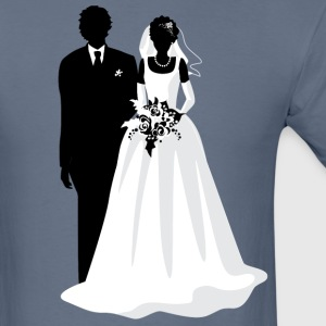 wedding dress - Men's T-Shirt