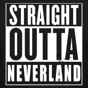 Straight Outta Neverland Peter Pan Parody T-Shirts - Women's T-Shirt