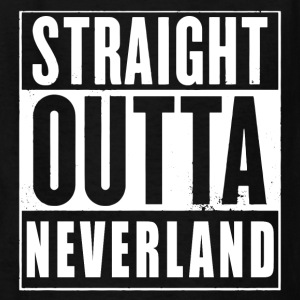 Straight Outta Neverland Peter Pan Parody Kids' Shirts - Kids' T-Shirt