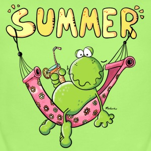 Summer Frog Baby Bodysuits - Short Sleeve Baby Bodysuit