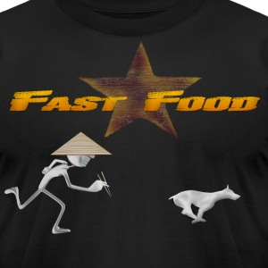 Fast Food from Nam - Men's T-Shirt by American Apparel