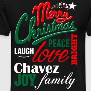 Merry Christmas Laugh Peace Love Bright Joy Chapma T-Shirts - Men's Premium T-Shirt