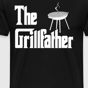 The Grillfather T-Shirts - Men's Premium T-Shirt