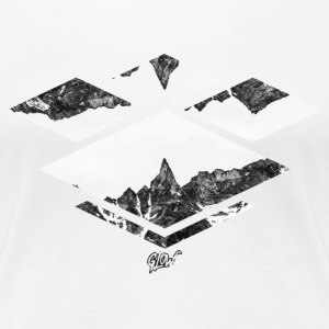 Winter Mountains T-Shirts - Women's Premium T-Shirt